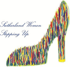 mark for SUTHERLAND WOMEN STEPPING UP, trademark #85932908