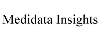 mark for MEDIDATA INSIGHTS, trademark #85932979
