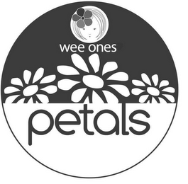 mark for WEE ONES PETALS, trademark #85933052