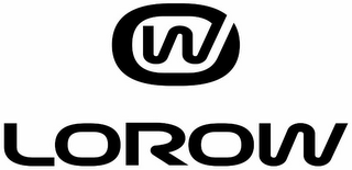 mark for W LOROW, trademark #85933077