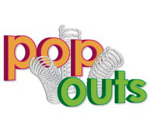 mark for POP OUTS, trademark #85933084