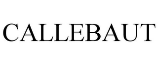 mark for CALLEBAUT, trademark #85933549