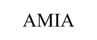 mark for AMIA, trademark #85934075