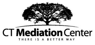mark for CT MEDIATION CENTER THERE IS A BETTER WAY, trademark #85934406