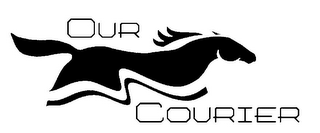 mark for OUR COURIER, trademark #85934683