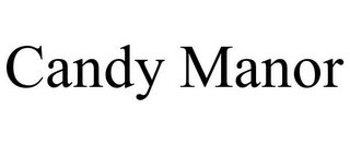 mark for CANDY MANOR, trademark #85934759