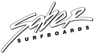 mark for SABER SURFBOARDS, trademark #85935099