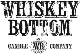 mark for WHISKEY BOTTOM CANDLE WB COMPANY, trademark #85935102