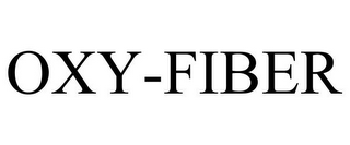 mark for OXY-FIBER, trademark #85935154