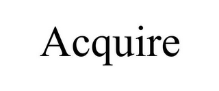 mark for ACQUIRE, trademark #85935366