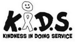 mark for K.I.D.S.; KINDNESS IN DOING SERVICE, trademark #85935514