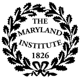 mark for THE MARYLAND INSTITUTE 1826, trademark #85935721
