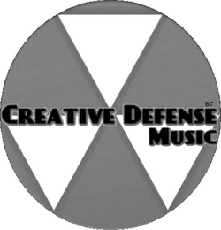 mark for CREATIVE DEFENSE MUSIC BT, trademark #85935786