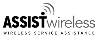 mark for ASSIST WIRELESS WIRELESS SERVICE ASSISTANCE, trademark #85935985