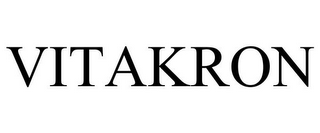 mark for VITAKRON, trademark #85936104