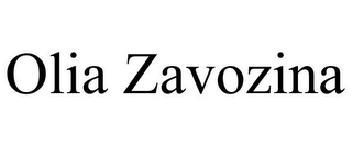 mark for OLIA ZAVOZINA, trademark #85936500