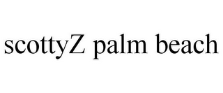 mark for SCOTTYZ PALM BEACH, trademark #85936676