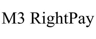 mark for M3 RIGHTPAY, trademark #85936929