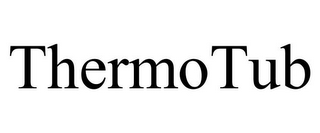 mark for THERMOTUB, trademark #85937058