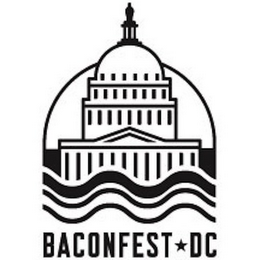 mark for BACONFEST DC, trademark #85937178