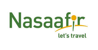 mark for NASAAFIR LET'S TRAVEL, trademark #85937188