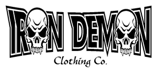 mark for IRON DEMON CLOTHING CO., trademark #85937199