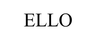 mark for ELLO, trademark #85937401