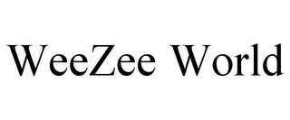mark for WEEZEE WORLD, trademark #85937405