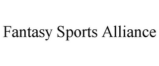 mark for FANTASY SPORTS ALLIANCE, trademark #85937674