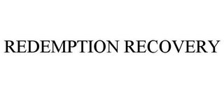 mark for REDEMPTION RECOVERY, trademark #85937796