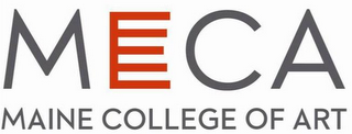 mark for MECA MAINE COLLEGE OF ART, trademark #85938250