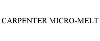 mark for CARPENTER MICRO-MELT, trademark #85938449