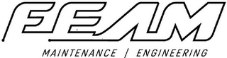 mark for FEAM MAINTENANCE | ENGINEERING, trademark #85938522