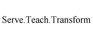 mark for SERVE.TEACH.TRANSFORM, trademark #85938699