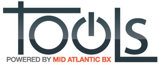 mark for TOOLS POWERED BY MID ATLANTIC BX, trademark #85939121