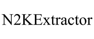 mark for N2KEXTRACTOR, trademark #85939225