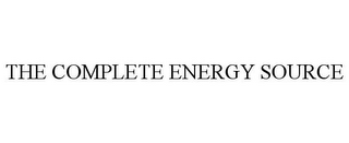 mark for THE COMPLETE ENERGY SOURCE, trademark #85939277