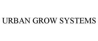 mark for URBAN GROW SYSTEMS, trademark #85939438