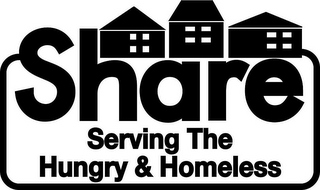 mark for SHARE SERVING THE HUNGRY & HOMELESS, trademark #85939532