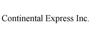 mark for CONTINENTAL EXPRESS INC., trademark #85939681
