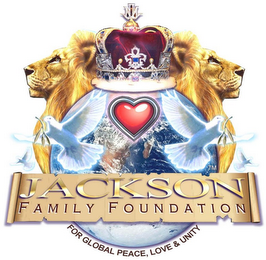 mark for JACKSON FAMILY FOUNDATION FOR GLOBAL PEACE, LOVE & UNITY, trademark #85939847