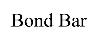 mark for BOND BAR, trademark #85940065