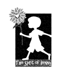 mark for THE SPIRIT OF BENNY, trademark #85940367