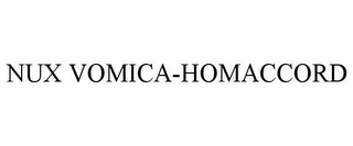 mark for NUX VOMICA-HOMACCORD, trademark #85940626