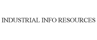 mark for INDUSTRIAL INFO RESOURCES, trademark #85940777