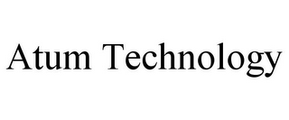 mark for ATUM TECHNOLOGY, trademark #85940866