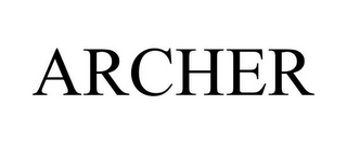 mark for ARCHER, trademark #85940928