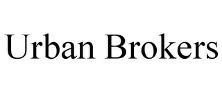 mark for URBAN BROKERS, trademark #85941178