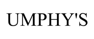 mark for UMPHY'S, trademark #85941317