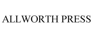 mark for ALLWORTH PRESS, trademark #85941547